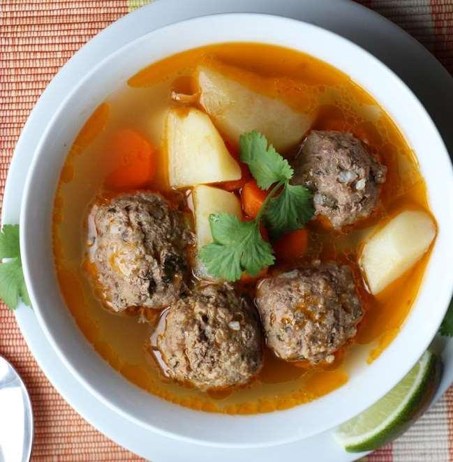 Фрикадельковый суп в мультиварке