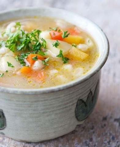 Суп с перловкой в мультиварке