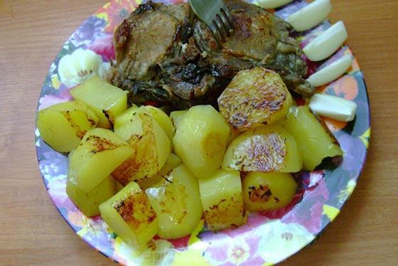 Антрекот из свинины в мультиварке рецепт пошагово 82