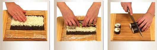 Пошаговый рецепт приготовления роллов
