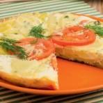 Картофельная запеканка с сыром