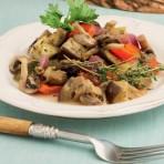 Рецепт приготовления овощного рагу с грибами
