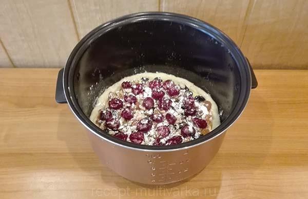 Шаг 9. Творожный пирог в мультиварке