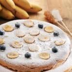 Бананово-медовый пирог